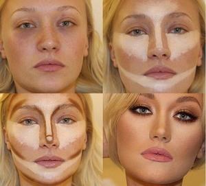 Выравнивание тона лица