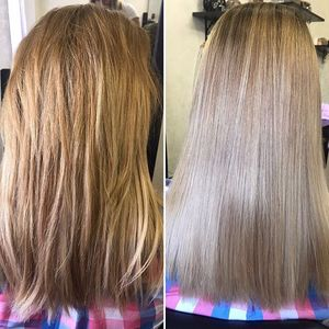 Правила ухода за осветленными волосами