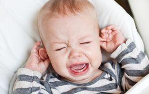 Причины плача у новорождённых