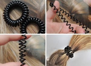 Резиночки спиральки для волос