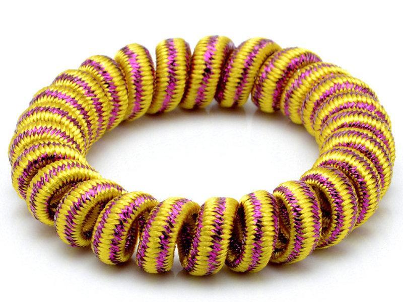 Разноцветные пружинки для волос