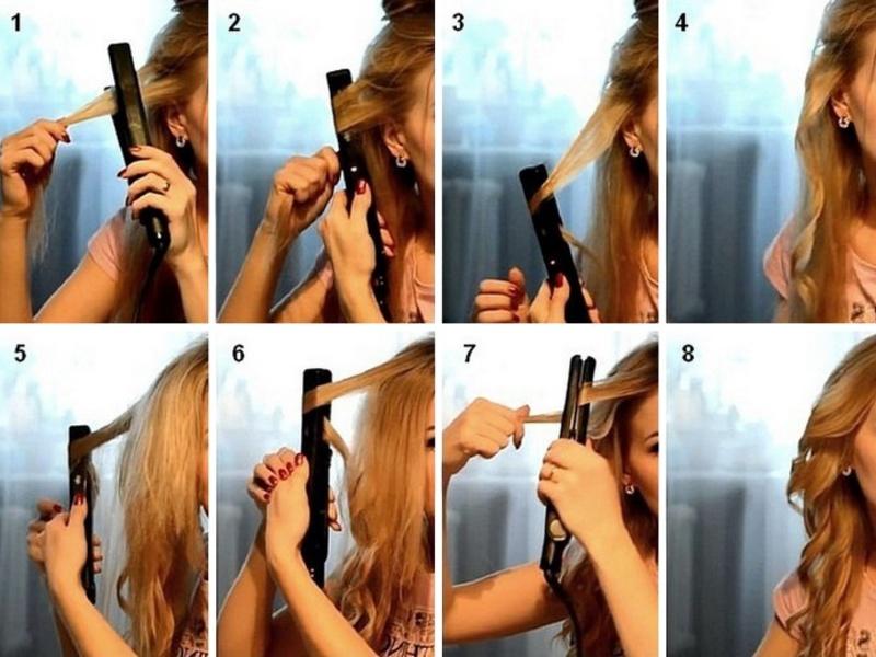 Мобильный голые накрутка волос на утюжок видео отметку русские мобильные