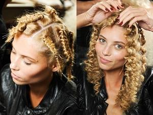 Косички как метод завивки волос