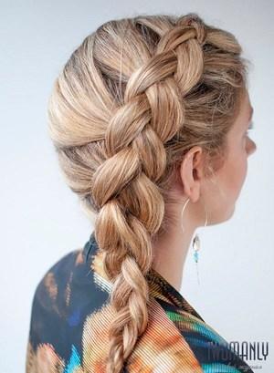 Пример французских кос