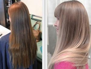 Плюсы тонирования волос