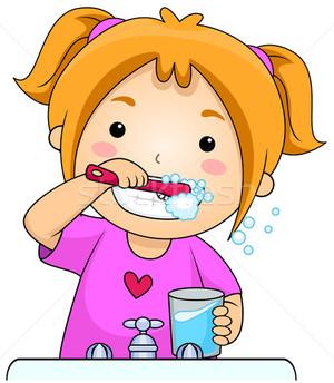 Уход за зубами детей