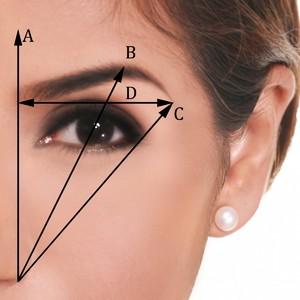 Как придать форму брови