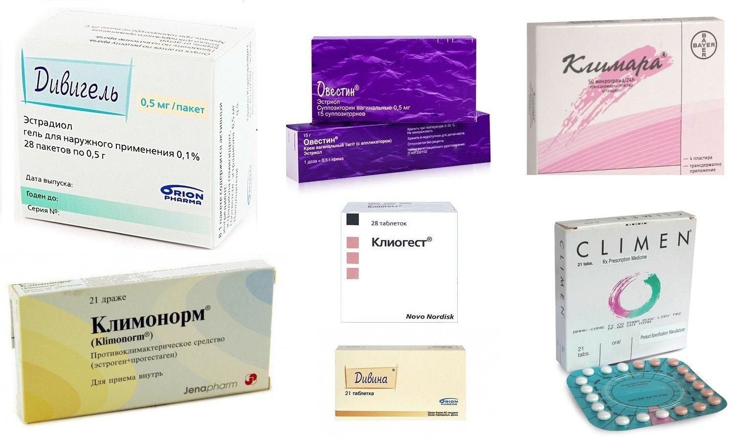 польза гормональной терапии при раннем климаксе