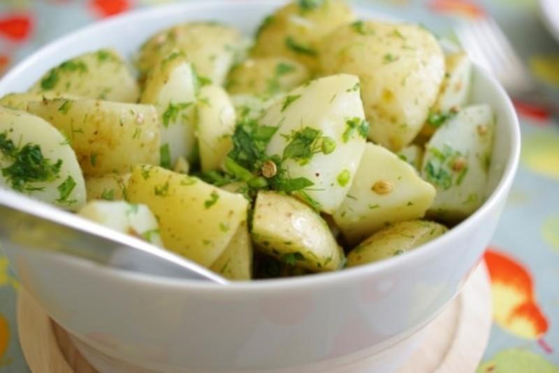 Диета на картошке в мундире