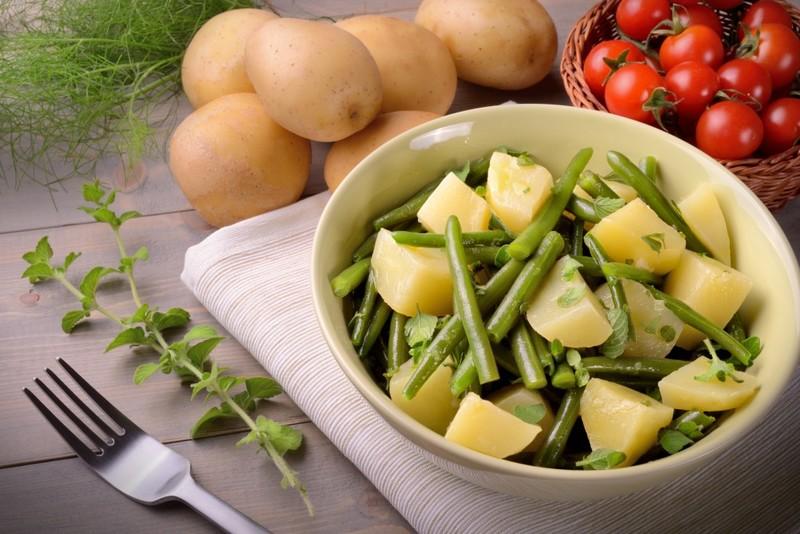 Вареная картошка для похудения