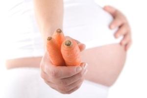 Как есть морковку при беременности