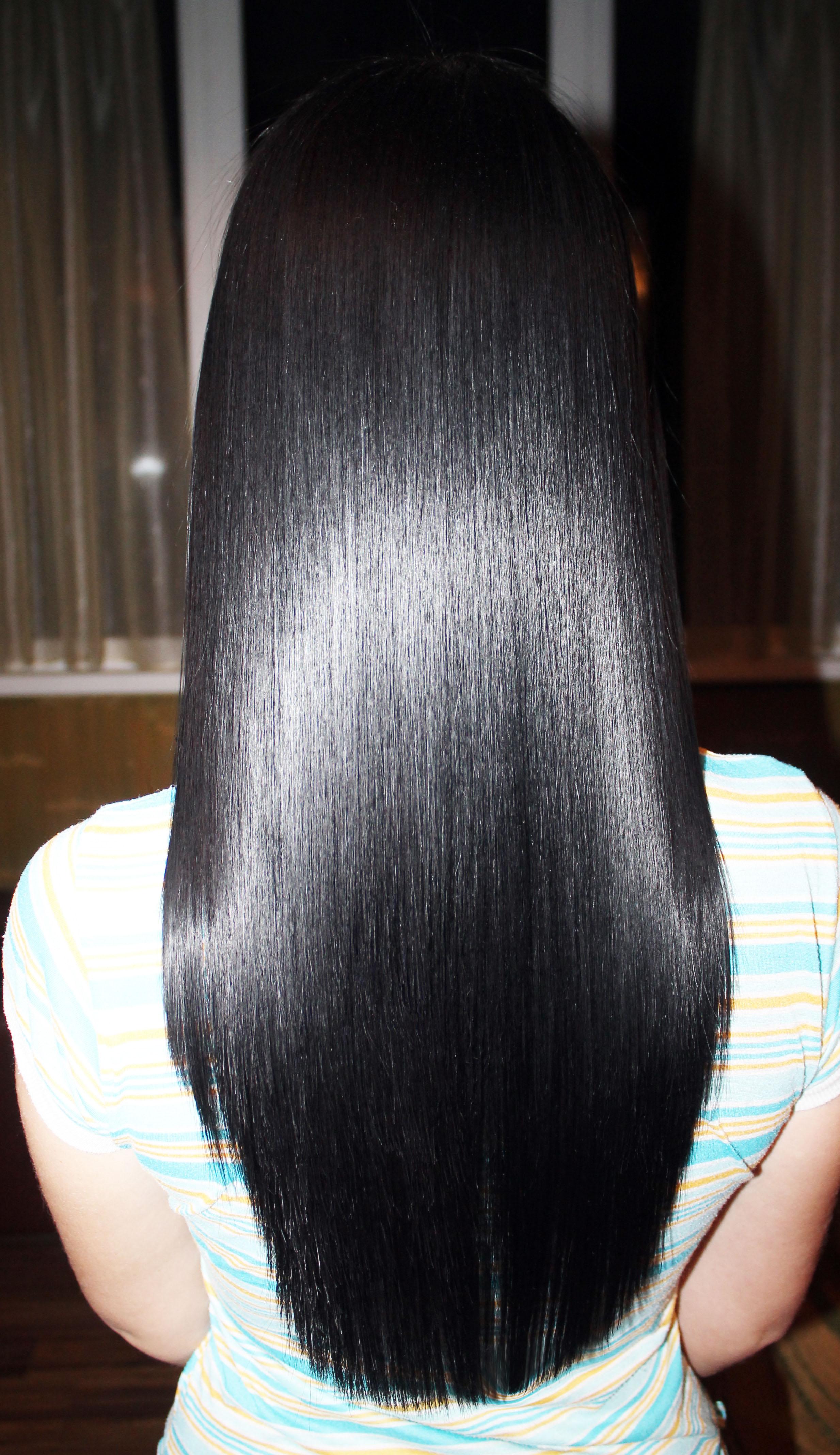 Правила ухода за волосами после процедуры кератинового выпрямления