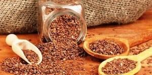 Льняное семя для чистки кишечника