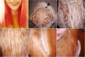 Способы восстановления волос после осветления