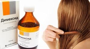 Как приготовить маску для волос с димексидом
