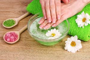 Как приготовить ванночку для ногтей