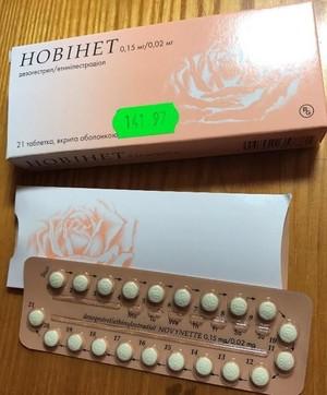 Особенности противозачаточных таблеток Новинет