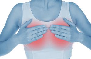Причины набухания молочных желез