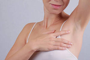 Боль под мышкой левой руки у женщин