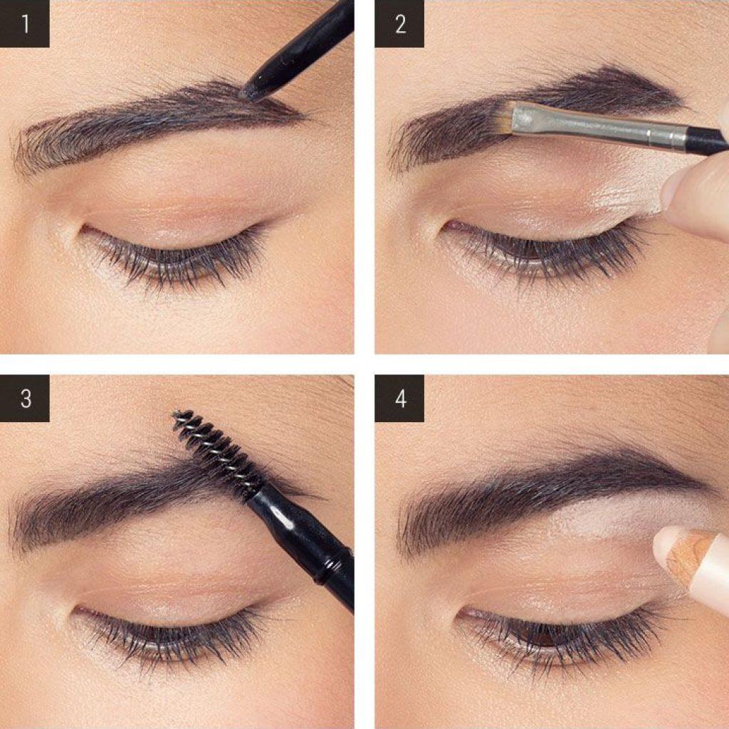 6 как подобрать карандаш для бровей для темно-русых волос.