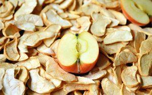 Как употреблять сушенные яблоки